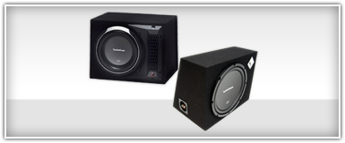 Rockford Fosgate Single 10 Inch Sub Boxes