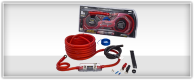Stinger 0 Gauge Amp Kits