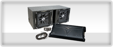 Powered Dual 12 Inch Subwoofer Enclosures